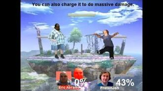 Smash Bros Lawl D.C. Character Moveset- PissedOffVideoGamer