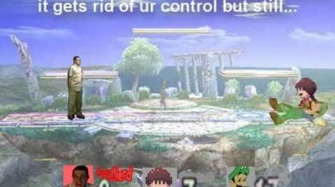 Smash Bros Lawl Character Moveset - AVGN