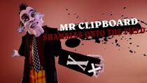 Mr. Clipboard in Smash Bros Lawl