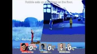 Smash bros Lawl X Character Moveset - Robbie Rotten