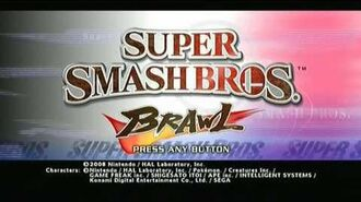 Super Smash Bros Brawl Intro