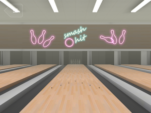 Bowling Easter Egg