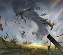 Tornados art
