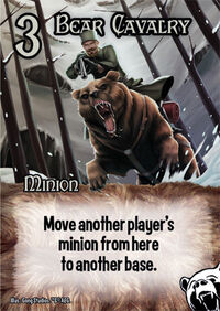 Bear cavalry minion
