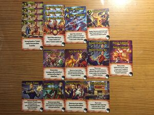 Kung Fu Fighters Cards