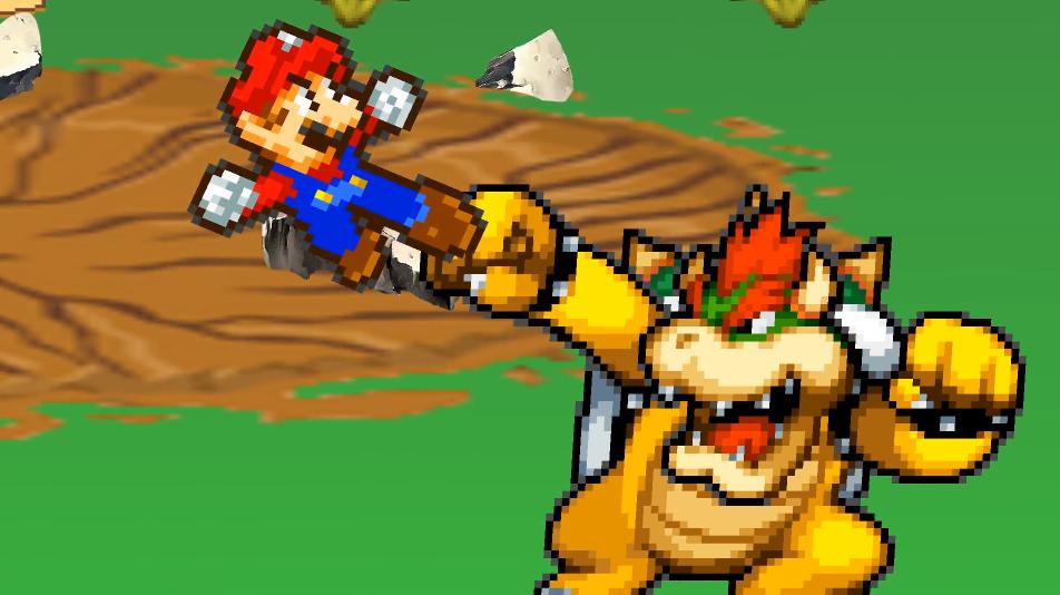 Fierce Battle Between Fierce Rivals | Super Mario Bros  Z