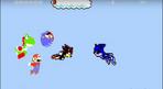 Mario, Sonic, Shadow and Yoshi vs