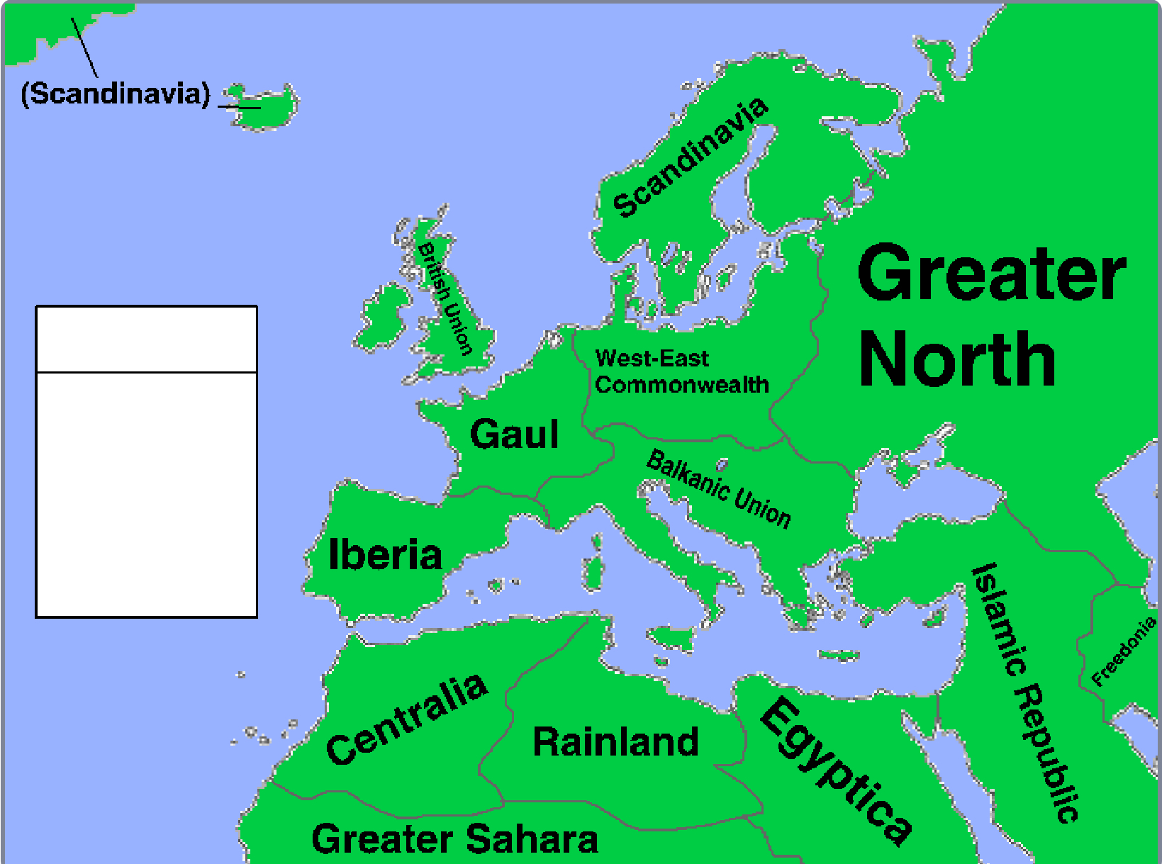 alternate future of europe map Alternate Future of Europe (deet0109) | The Scratch Mapping