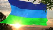 Флаг Республики Синих 3