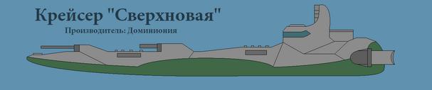 Крейсер Сверхновая1