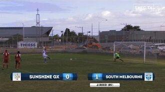 Dockerty Cup 2014 -- (R4) Sunshine GX v South Melbourne FC
