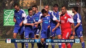 2015 FFA Cup (R4) Whittlesea Utd v South Melbourne SMFC TV-0