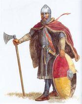 The Vikings were all dirty wild looking people