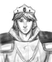 King Alaron sketch by LadyScourgE