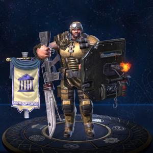 Ares Soldado da Fortuna no Jogo