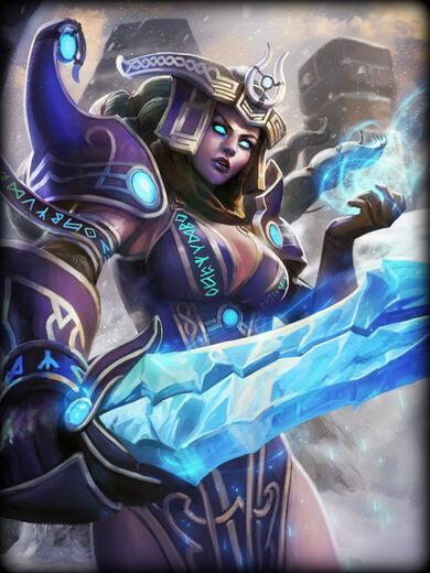 Freya Dama da Geada