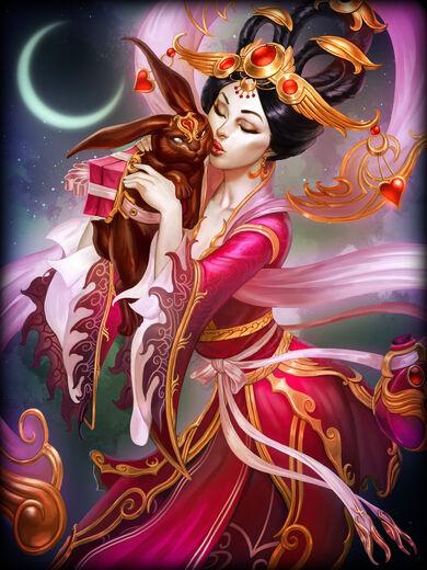 Chang'e Luar do Amor