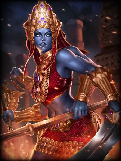 Kali Morte Sanguinária