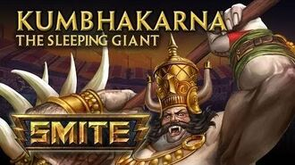 SMITE - God Reveal - Kumbhakarna, The Sleeping Giant