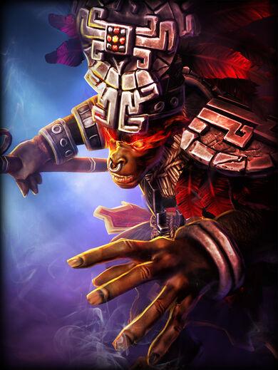 Hun Batz Demônio Vermelho
