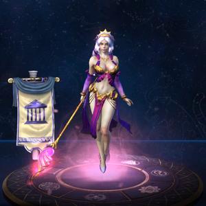 Afrodite Majestrix no Jogo