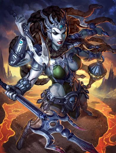 Kali Exterminadora de Demônios