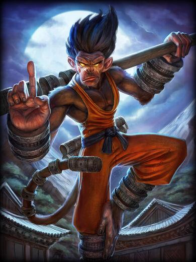 Hun Batz Macaco Shaolin
