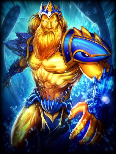 Poseidon Dourada