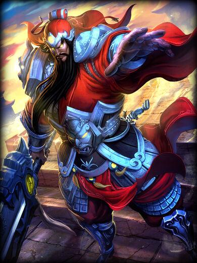 Guan Yu Lâmina Incontrolável