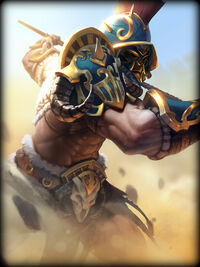 Guan Yu gladiator Card