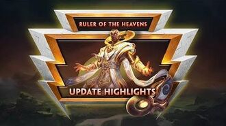 SMITE - Update Highlights - Ruler of the Heavens