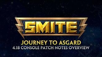 SMITE - 4.18 Console Patch Overview - Journey to Asgard