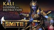 SMITE - God Reveal - Kali, Goddess of Destruction