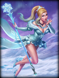 Aphrodite ice-queen Card