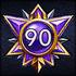 Achievements GodMastery 90