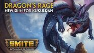 SMITE - New Skin for Kukulkan - Dragon's Rage