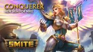 SMITE - New Skin for Nike - Conquerer