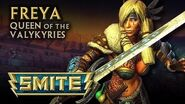 SMITE God Reveal - Freya, Queen of the Valkyries