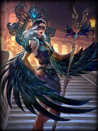 Isis midnight-raven Card