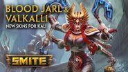 SMITE - New Skins for Kali - Blood Jarl & Valkalli