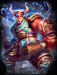 Raijin ThundersRoar Card