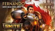 SMITE - New Skin for Ares - Fernando