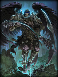 Thanatos grim-reaper Card