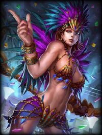 Neith Carnaval Card