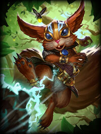 Ratatoskr ArmoredScurrier Card