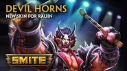 SMITE - New Skin for Raijin - Devil Horns
