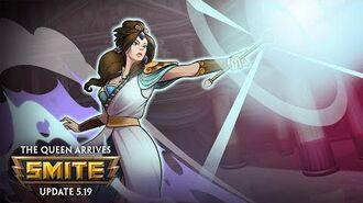 Hera Makes Her Royal Entrance SMITE God Teaser