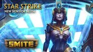 SMITE - New Skin for Neith - Star Strike