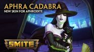 SMITE - New Skin for Aphrodite - Aphra Cadabra