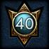 Achievements GodMastery 40